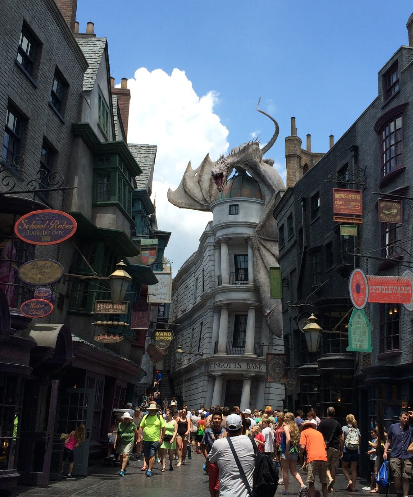cozy birdhouse | diagon alley at the wizarding world of harry potter