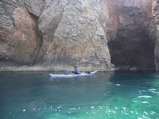 Entrant a la cova de la sal