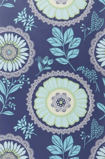 Papier peint uni coloris turquoise CASTORAMA - Papier Peint Turquoise Et Gris