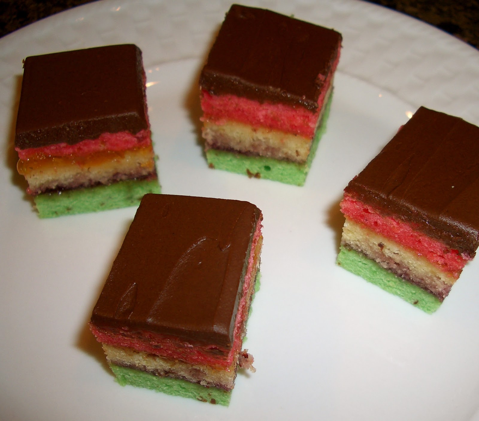 neapolitan cookies 1 8oz can almond paste 1 cup butter