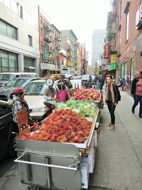 street of Chinatown manhattan new-york