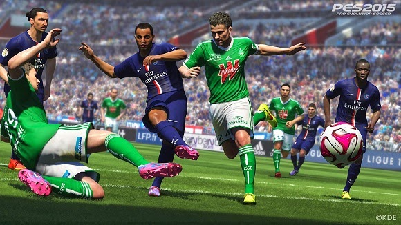 PES 2015 For PC Reloaded