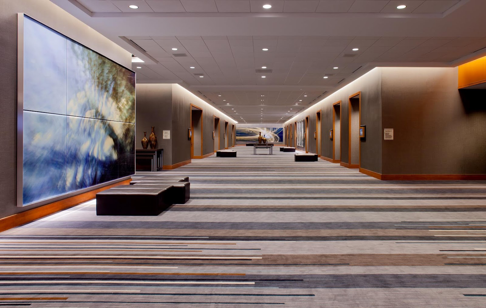 Grand Hyatt Foyer : It s always grand at the hyatt dfw voted