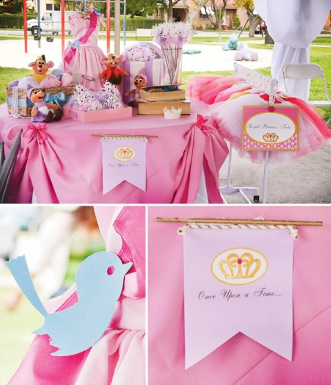 Fiestas de princesas ideas de decoraci n decoracion - Decoracion fiesta princesas disney ...