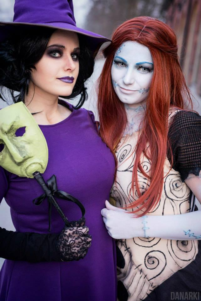 shock cosplay from the nightmare before christmas - Shock From Nightmare Before Christmas