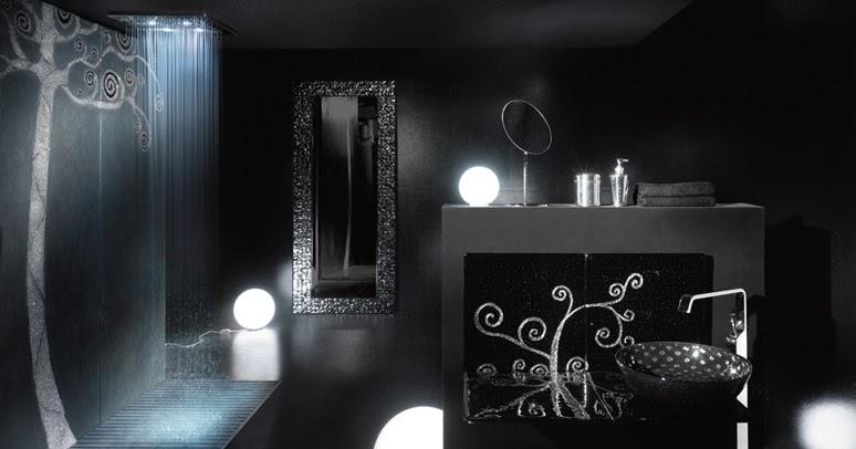 Ba os modernos de color negro ideas para decorar - Banos en negro ...