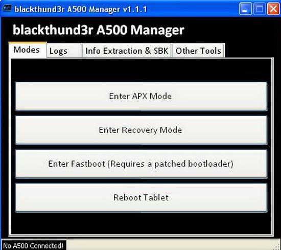 Acer a500 apx драйвер