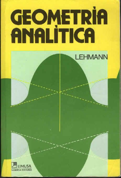 Libros actuariales geometria anal tica lehmann Libros de ceramica pdf