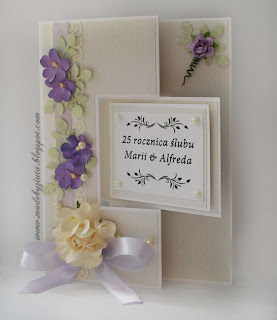 scrapbooking kartka swing ślub card making