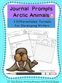 https://www.teacherspayteachers.com/Product/Journal-Prompts-Arctic-Animals-For-PrimaryK-3-1979364