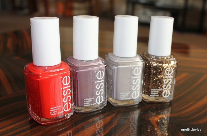 beauty blog discount essie polish haul