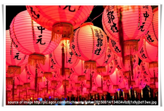 The 7th Month of The Chinese Lunar Calendar, Hungry Ghost Month