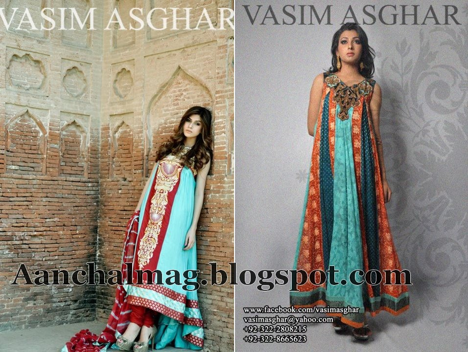 Vasim Asghar Formal Attire Collection 2012 for Women