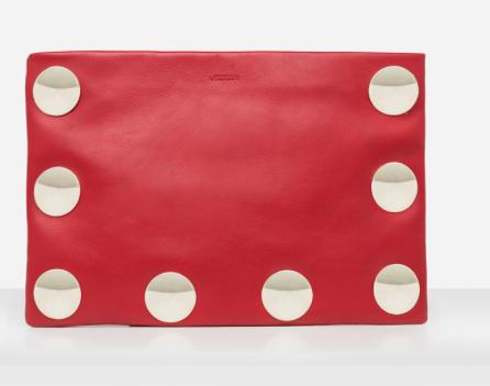 Rebajas SS 2015 complementos sobre rojo con tachas