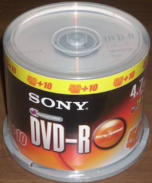 DVD-R Roll Sony Cone
