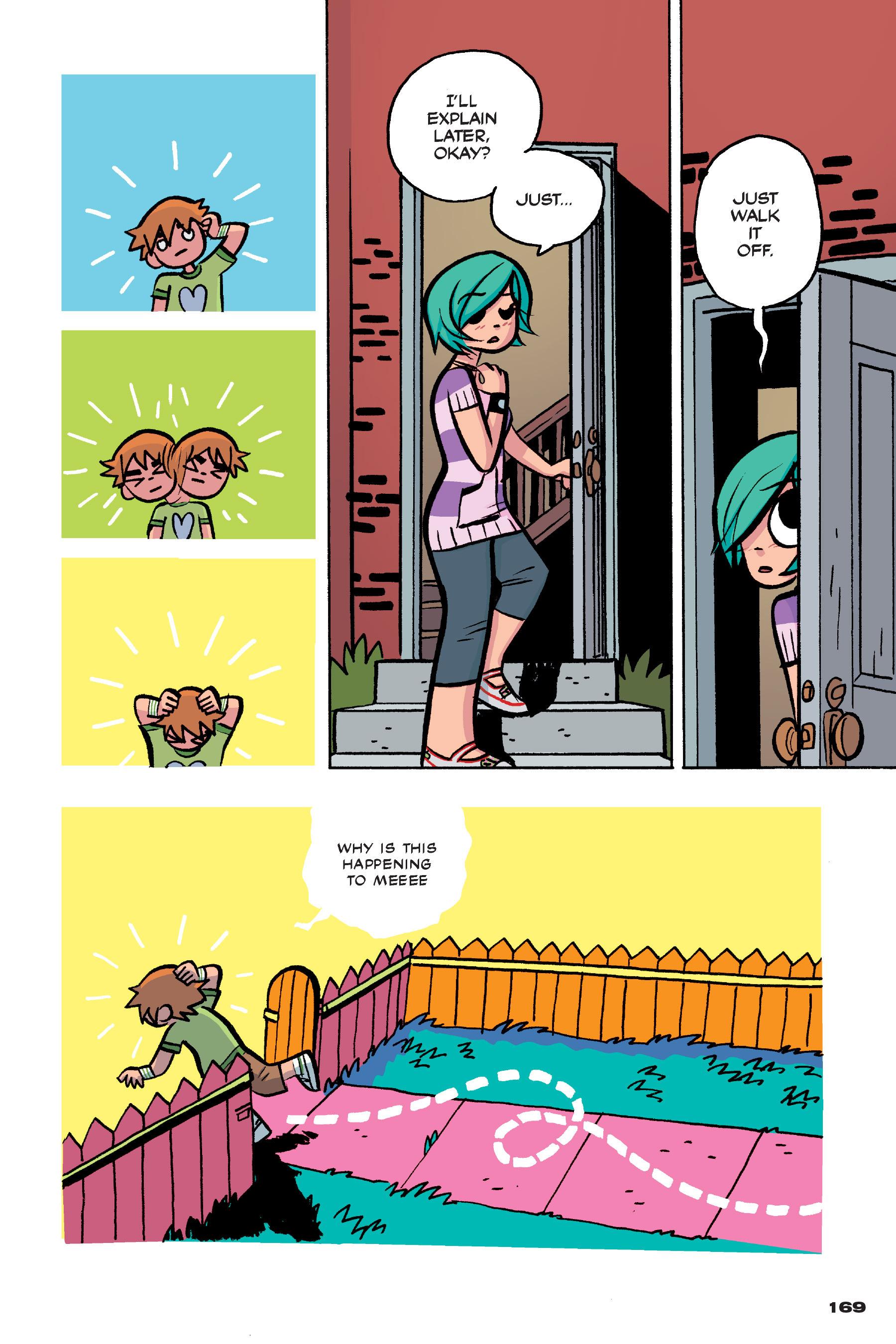 Read online Scott Pilgrim comic -  Issue #4 - 166