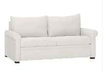 Sofa Double Seater White