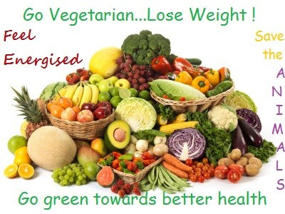how to go vegetarian and lose weight