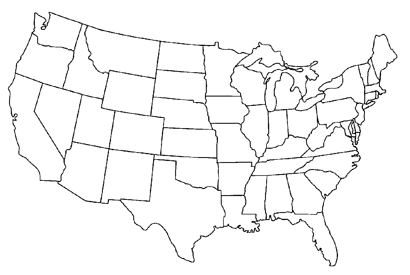 United States Map Png Us Map Outline Png Inspiring Images Map