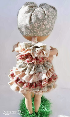 текстильная игрушка Блоха