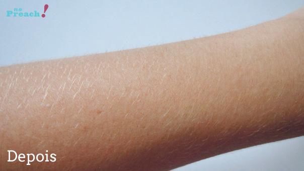 Lightner Cless - kit banho de lua de caviar - Como descolorir os pelos do corpo