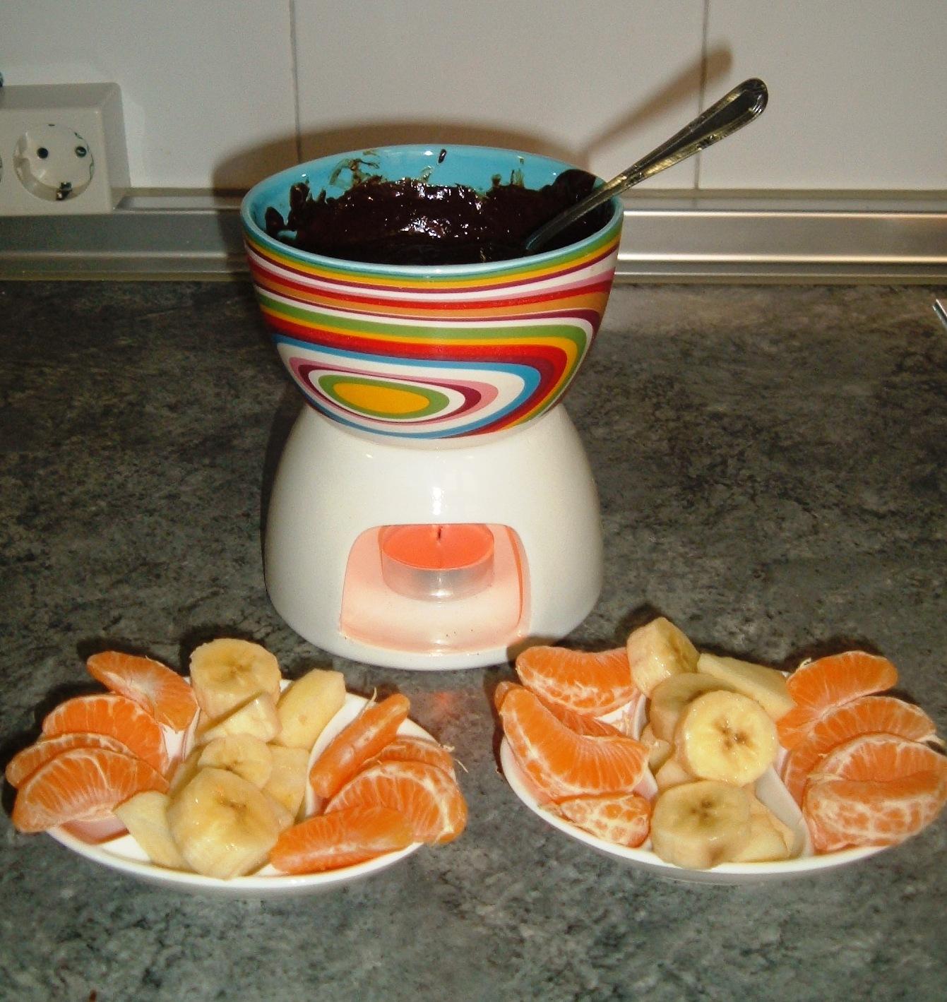 Las recetas caseras de may fondue de chocolate - Fondue de chocolate ...