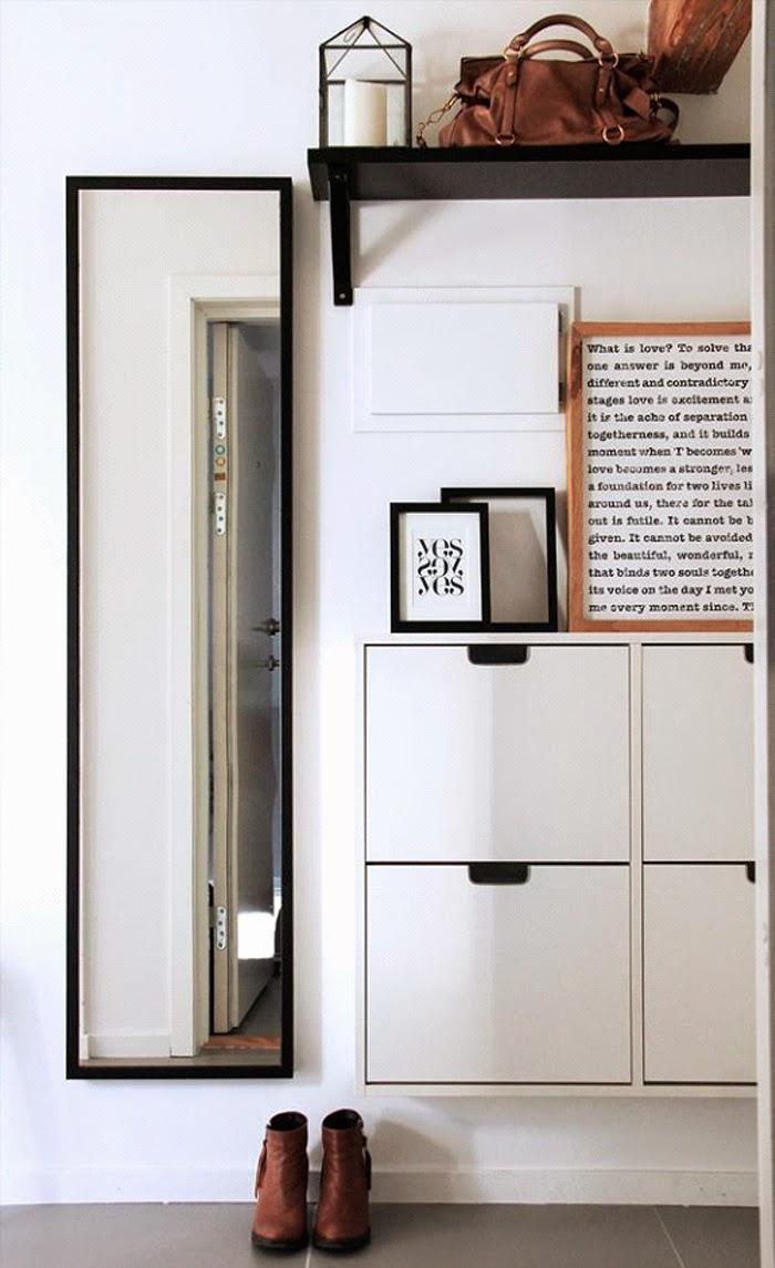 Consejos para decorar tu entrada peque a diariodeco - Ideas para entradas de casa ...