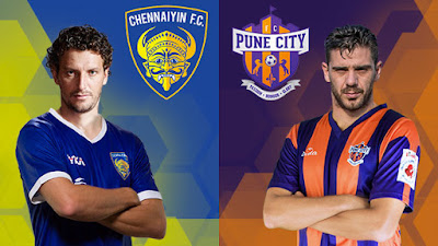 Chennaiyin FC vs FC Pune City ISL Live Streaming