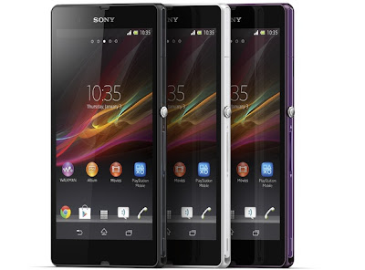 Spesifikasi Harga Sony Xperia Z