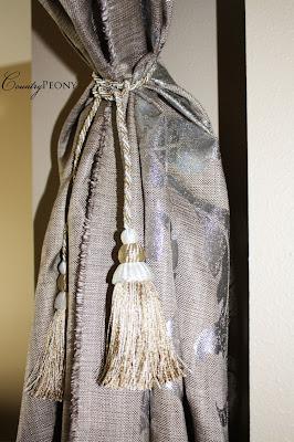 homemade curtain