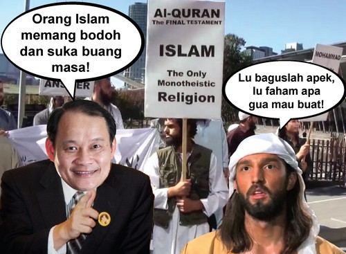 MALAY AND ISLAMIC NGOS BARKING THE WRONG TREES !!!