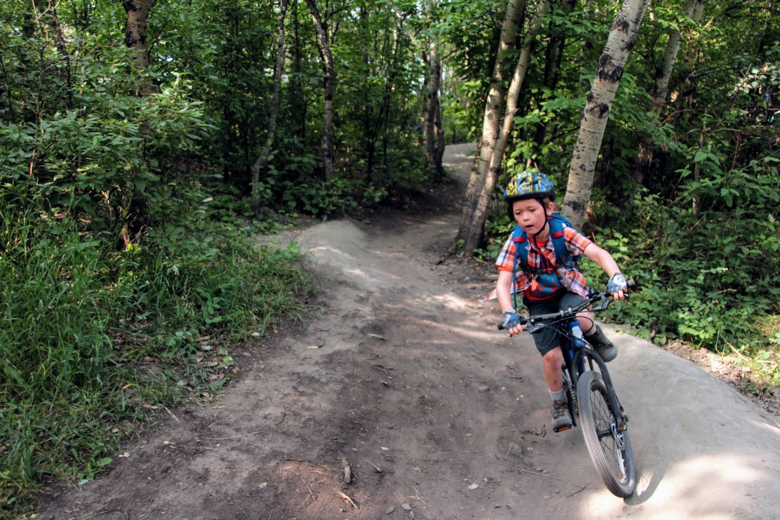 Riding In Narnia At Canada Olympic Park