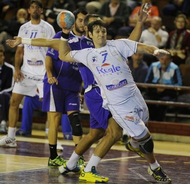 Gran efectividad de Gonzalo Carou en la Liga ASOBAL | Mundo Handball
