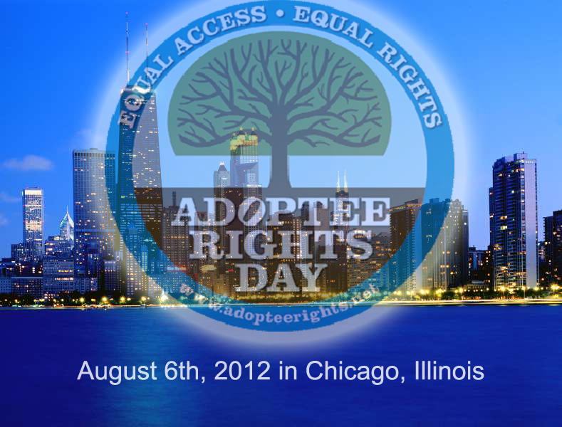 Chicago Adoptee Rights Protest