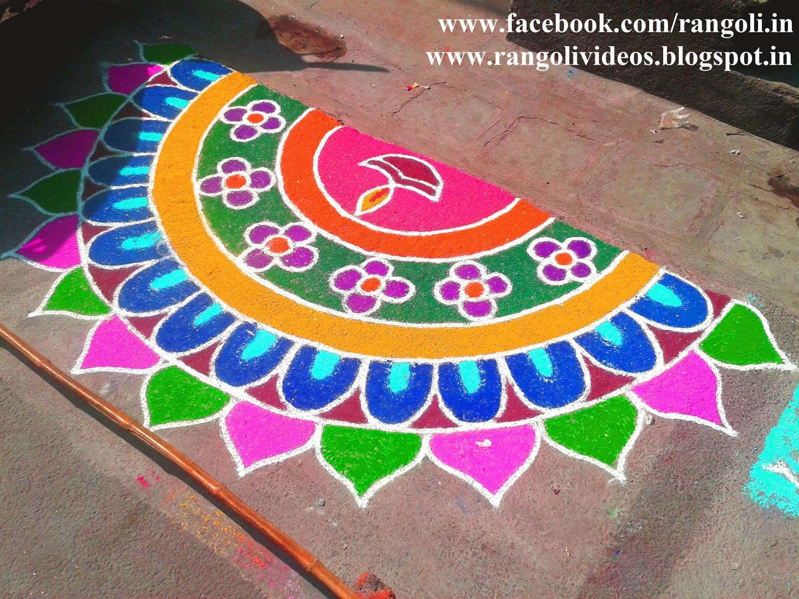 Diwali Rangoli , Kolam , Designs Images: Margazhi Rangoli Designs 2013