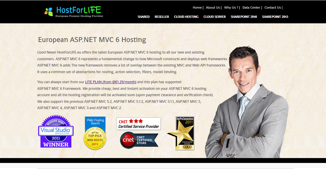 Why Should Choose HostForLIFE.eu Web Hosting to Build the ASP.NET MVC 6 Site ?