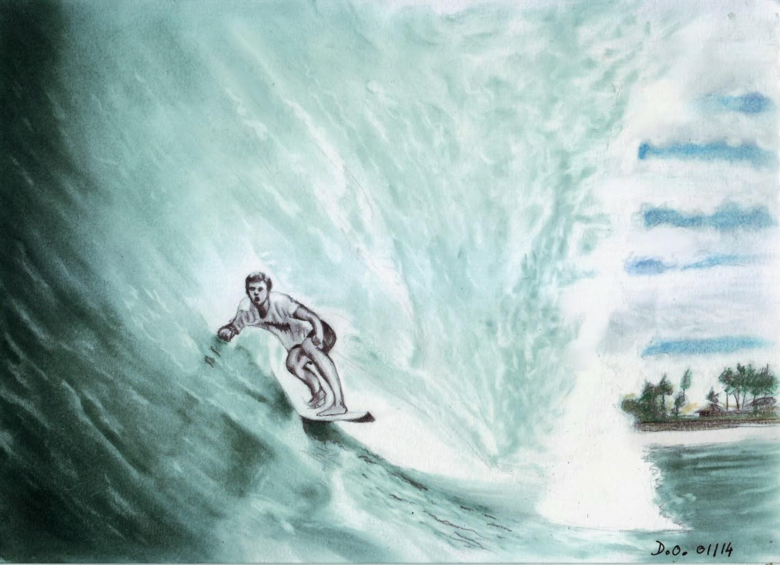 La vague  d' Hawaii 2014