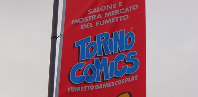 torino comics 2014 banner