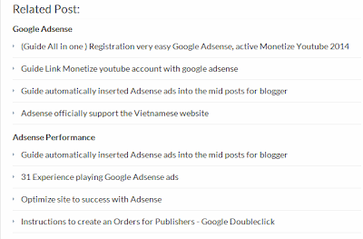 Add Related Posts with old and new themes for bloggers