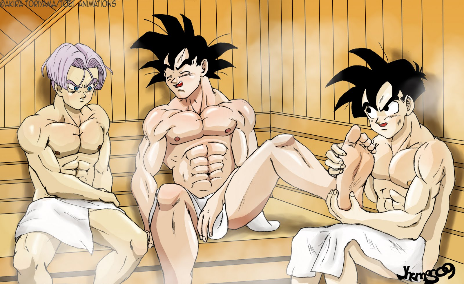 dragon ball z gay hentai
