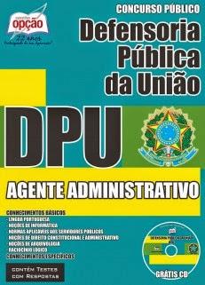 APOSTILA para o concurso 2015 da Defensoria Pública da União (DPU)
