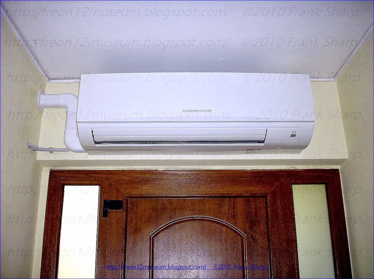 MITSUBISHI ELECTRIC PUHZ ZRP100VKA POWER INVERTER AIR CONDITIONER YEAR #3A100C