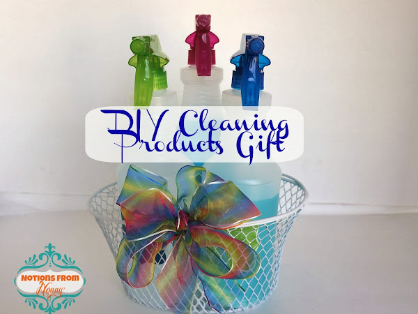 DIY Cleaning Products Gift