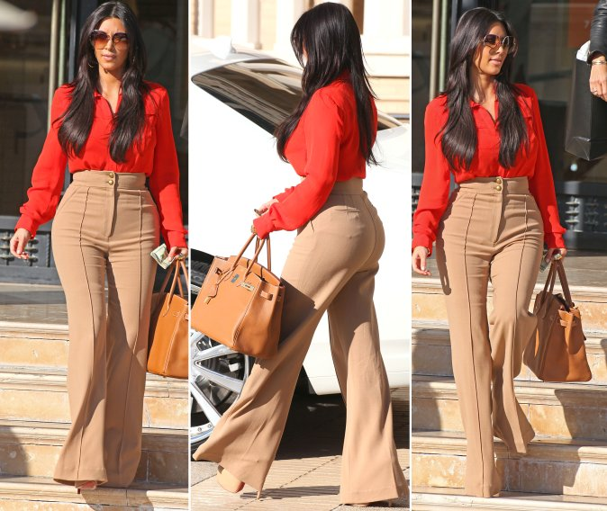 Kim Kardashian Retro Look 2012 Krazy Fashion Rocks