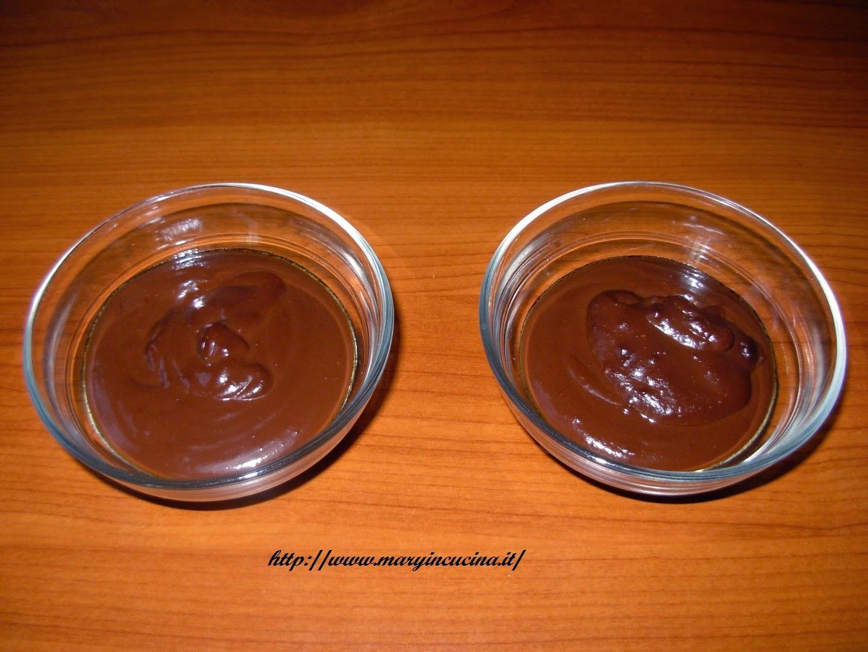 crema veloce al cioccolato