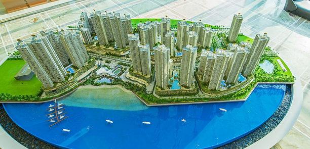 Country Garden Danga Bay condo 碧桂园,金海湾,马来西亚 Model