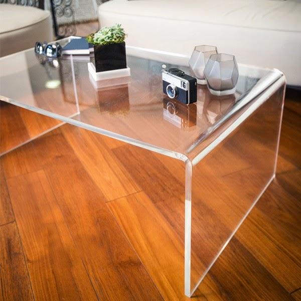 Esclusivo in plexiglass for Tavoli soggiorno moderni
