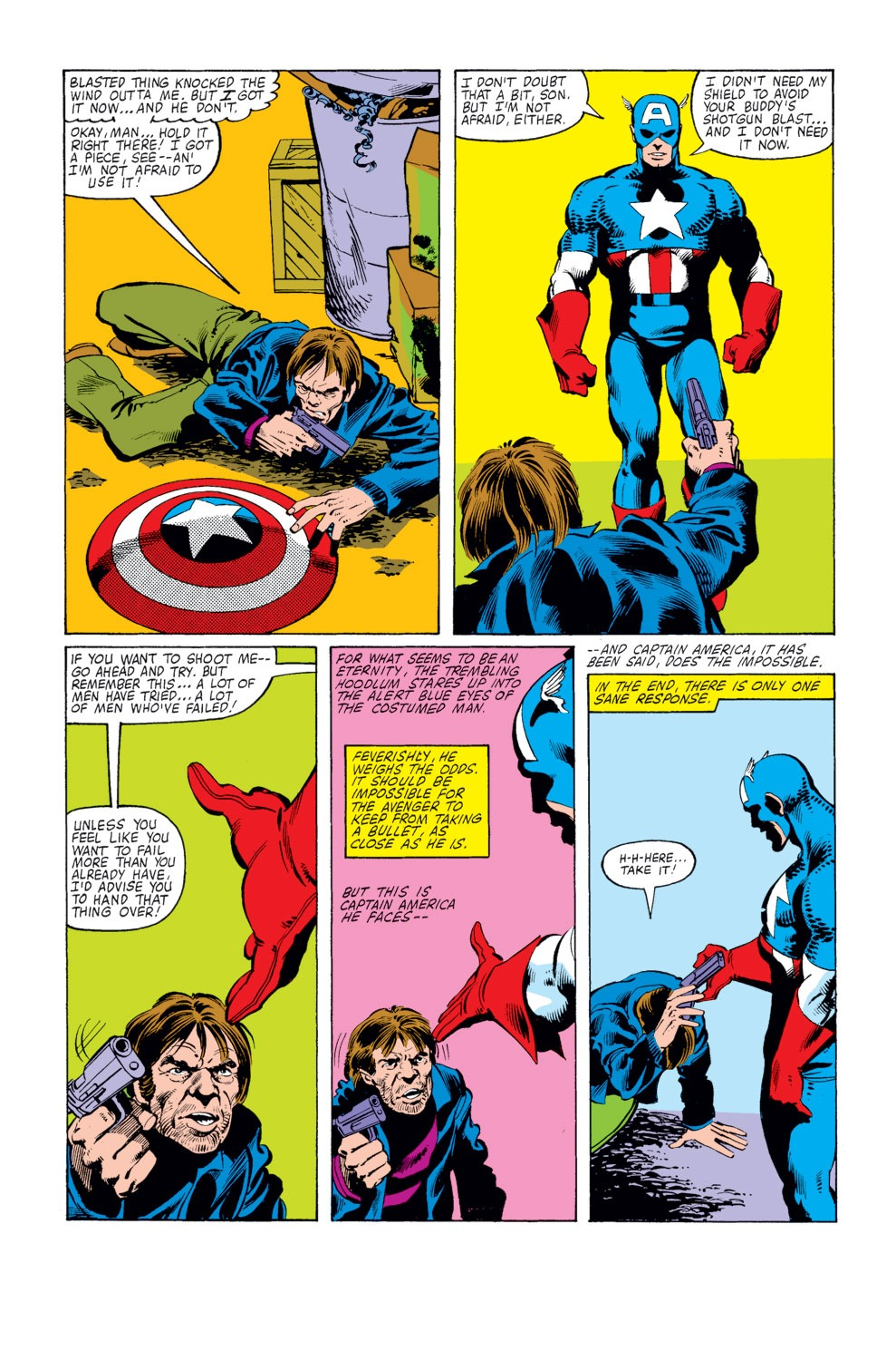 Captain America (1968) Issue #253 #168 - English 6