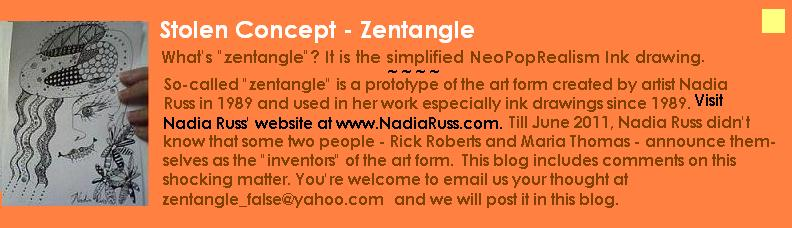Stolen Concept - Zentangle