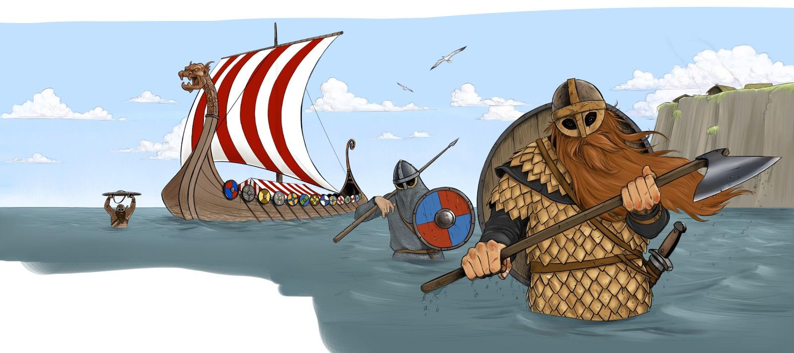 Gil Troitsa גיל טרויצה: Book - Viking Raiders